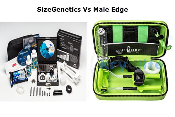 SizeGenetics vs Male Edge