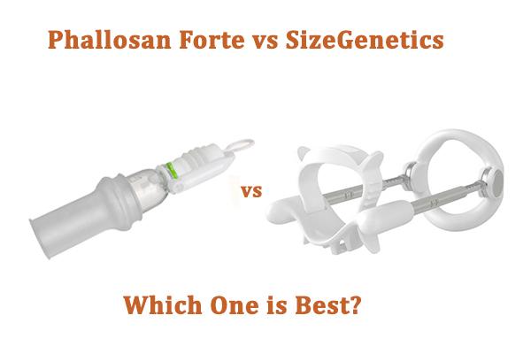 Phallosan Forte vs SizeGenetics