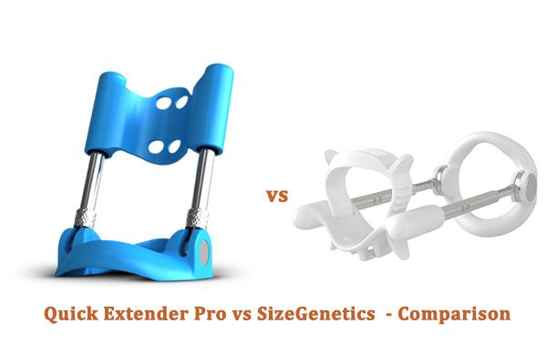 Quick Extender Pro vs SizeGenetics - Comparison
