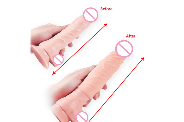 Penis Extenders before and after pictures